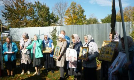 В праздник Покрова Пресвятой Богородицы Покровский приход с. Натальевка отметил престольный праздник