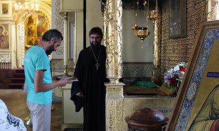 Известный российский математик Алексей Савватеев посетил святые места Таганрога, связанные с праведным Павлом