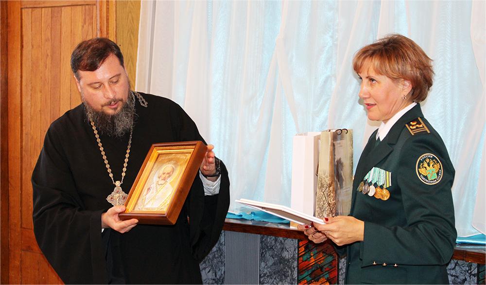 Благочинный таганрогского округа принял участие в торжественных мероприятиях, посвященный 320-летнему юбилею таганрогской таможни