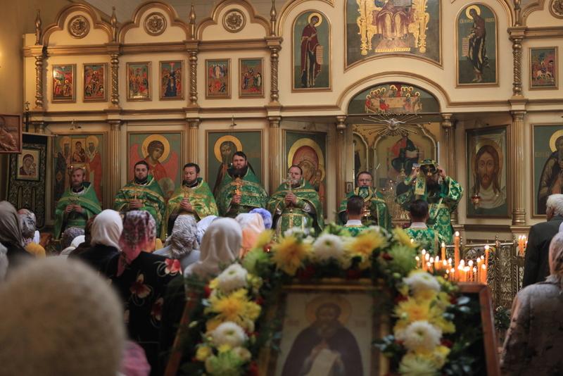 Приход преподобного Сергия Радонежского Таганрога отметил престольный праздник