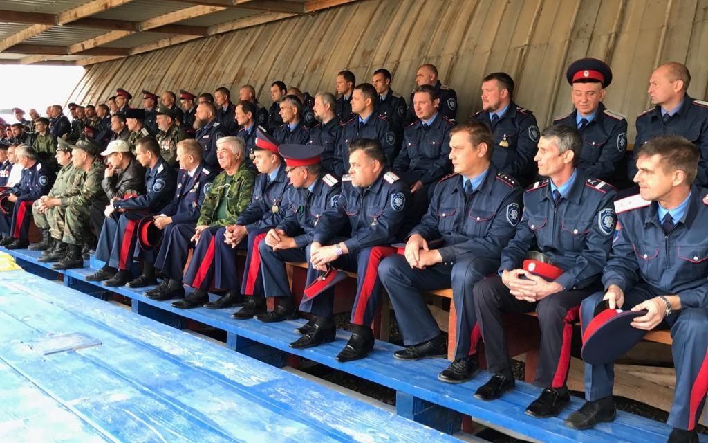 Духовник таганрогского казачьего округа принял участие в работе Круга казаков ТКО ВВД