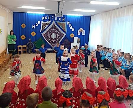 Воспитанники детского сада с. Андреево-Мелентьево познакомились с историей праздника Донской иконы Богородицы