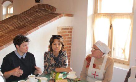 Состоялась встреча сестер милосердия Елисаветинского сестричества с Анжеликой Данюшиной -директором по развитию в Фонде «Голос за жизнь».