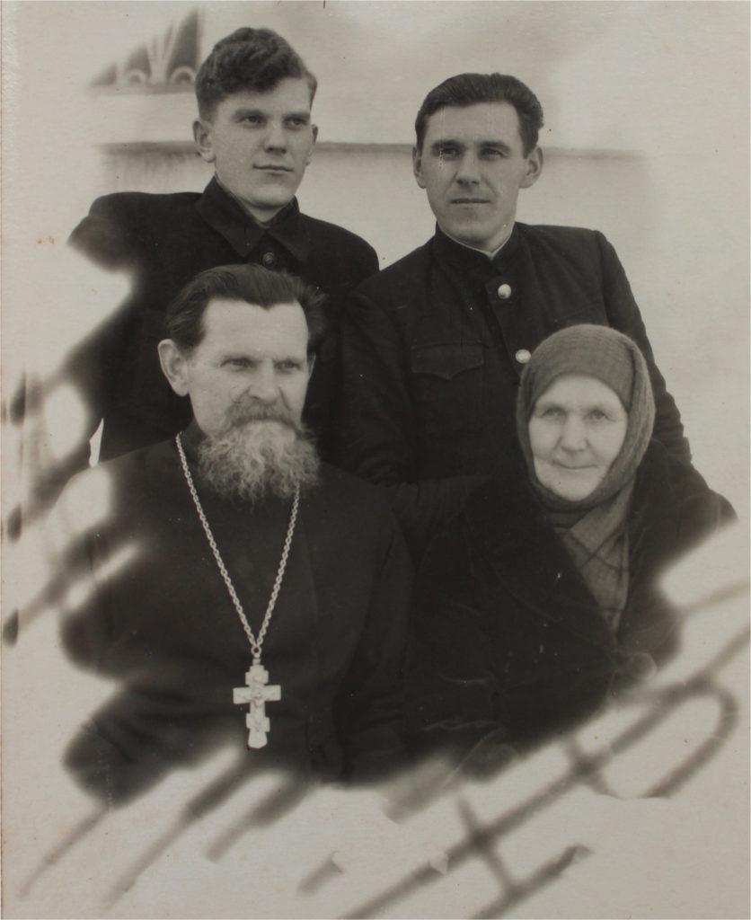 Семья Пневских 1949г.