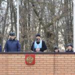 Помощник благочинного таганрогского округа по работе с вооруженными силами напутствовал военнослужащих 708 авиационного полка