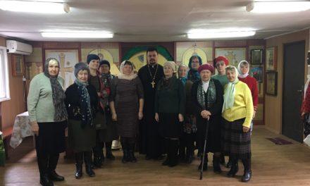 Храм преподобного Серафима Саровского посетили члены таганрогского отделения Всероссийского общества глухих