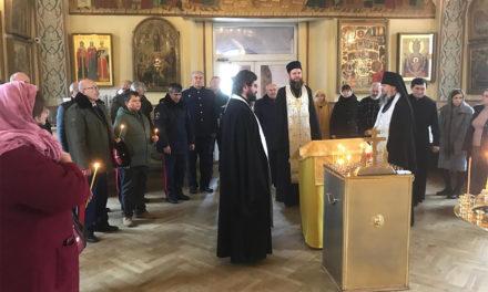 В Свято-Никольском храме г. Таганрога почтили память Антона Павловича Чехова и членов семьи писателя