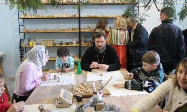 Состоялось торжественное открытие керамической мастерской при Никольском храме г.Таганрога