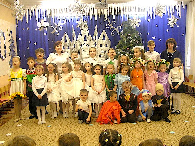 В детском саду «Сказка» с. Андреево-Мелентьево прошел рождественский утренник воскресной школы Магдалининского храма