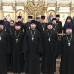 В Марие-Магдалининском храме х. Красный десант состоялось собрание духовенства таганрогского благочиния
