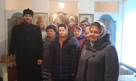 Настоятель Покровского храма совершил Литургию в отдалённом селе