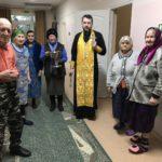 Настоятель Покровского храма с. Натальевка встретился с подопечными социально-реабилитационного отделения для людей пожилого возраста