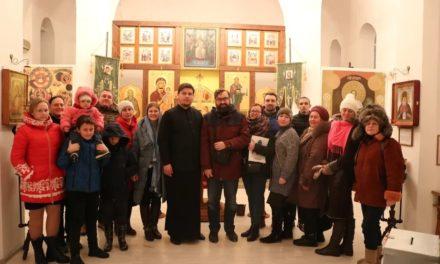 В храме Александра Невского с.Вареновка состоялась встреча с Артемом Перликом