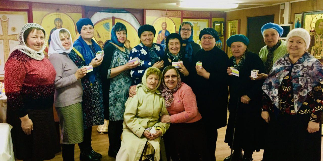 Храм преподобного Серафима Саровского Таганрога посетили члены отделения Всероссийского общества глухих