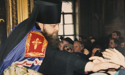 20 лет архиерейской хиротонии митрополита Меркурия