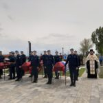Настоятель прихода Преображенского храма с. Самбек совершил чин погребения останковвоинов, погибших в Великой Отечественной Войне
