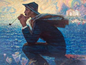 Зиновий Филиппов. портрет А.Грина