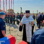Благочинный Таганрогского округа протоиерей Алексей Лысиков совершил панихиду по погибшим воинам на Аллее памяти музейного комплекса «Самбекские высоты»