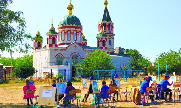 22 сентября на территории храма Александра Невского с. Вареновка прошли мероприятия в рамках проекта «Александр Невский – слава, дух и имя России»
