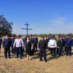 В день Воздвижения Креста Господня в х.Петропавловский Неклиновского района был установлен поклонный крест