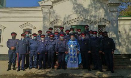 Казаки таганрогского казачьего общества отметили праздник Покрова Пресвятой Богородицы