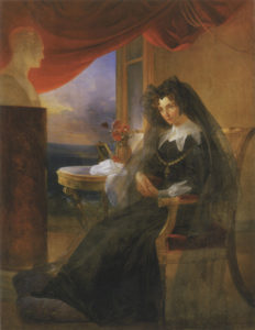 Elizabeth_Alexeevna_in_mourning_by_P.Basin_(1831)