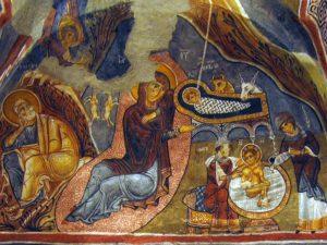 фреска каранлик
