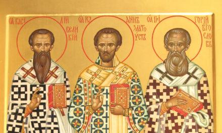 Святая Троица, три святителя и Таганрог