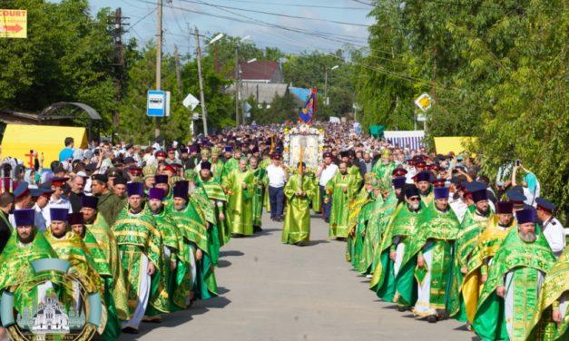 5-летие общецерковного прославления Павла Таганрогского