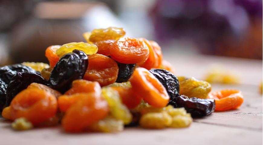 Сухофрукты — концентрат вкуса и пользы
