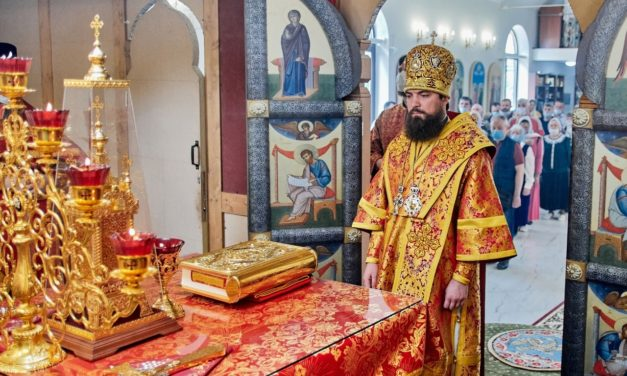 С архипастырским визитом Таганрог посетил епископ таганрогский Артемий