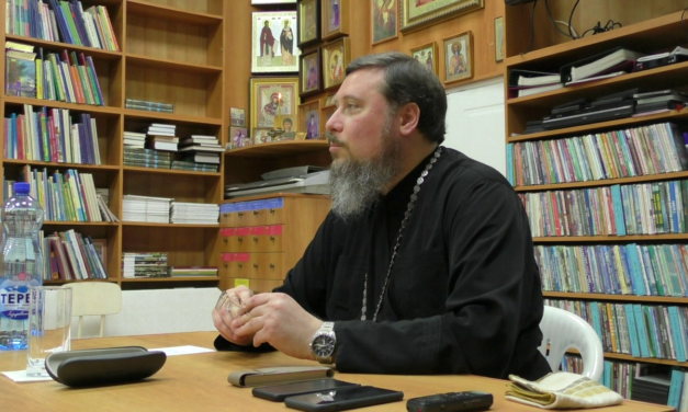 Протоиерей Алексей Лысиков провел беседу о праведном Павле Таганрогском
