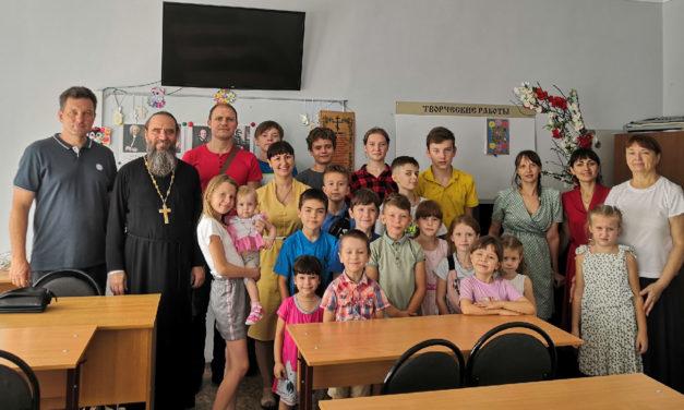 В воскресной школе Никольского храма г.Таганрога начал занятия семинар-практикум «Погода в доме».