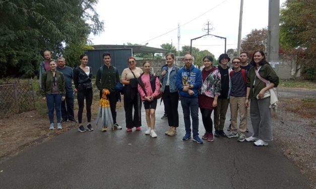 В рамках волонтерского проекта храма Всех святых г.Таганрога состоялось лекционно-практическое мероприятие по основам изучения мемориальной пластики
