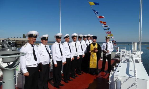 Настоятель Ильинского храма г.Таганрога совершил освящение нового пограничного сторожевого катера