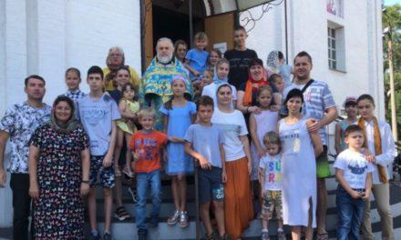 В храме Иерусалимской иконы Божией Матери г. Таганрога состоялся молебен перед началом учебного года для детей с ОВЗ