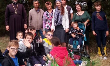 Молодежный актив храма с.Покровское совершил эко-поход в природоохранный заповедник «Миусский склон»