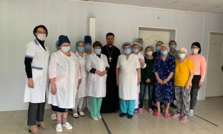 Настоятель Серафимовского прихода г. Таганрога посетил противотуберкулезный диспансер